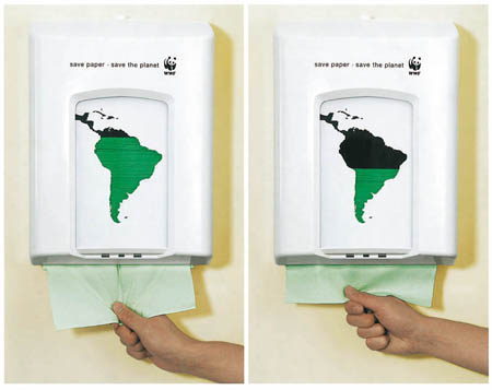 WWF Paper Towel Dispenser